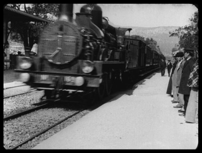 L'Arrivée d'un train en gare de La Ciotat was shot in 1896 (Catalogue Lumiere)