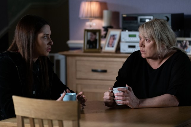 Sharon and Dotty EastEnders