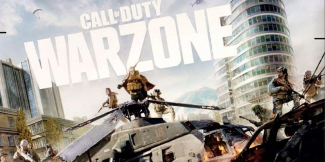 Call Of Duty: Modern Warfare Warzone art