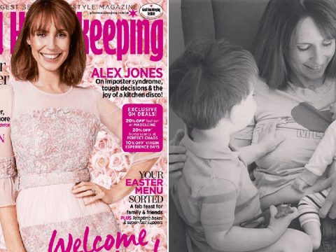 Alex Jones regrets 'being unrealistic' returning to The One Show so soon after birth of son