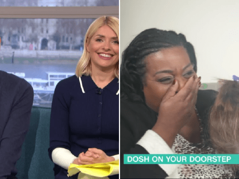 Alison Hammond weeps as Phillip Schofield and Holly Willoughby gift disabled viewer £2,000 and a wedding dress