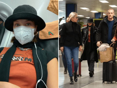 Bella Hadid wears face mask as she jets out of Milan Fashion Week amid coronavirus