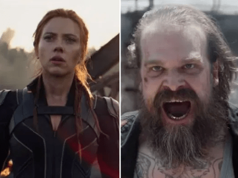 Marvel's Black Widow Super Bowl ad teases David Harbour's Red Guardian in growling action