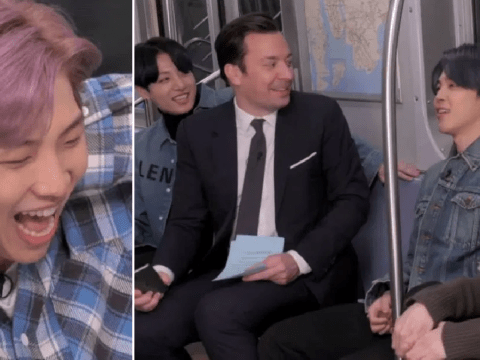 BTS finally clear up the 'black bean noodle incident' as they ride New York subway with Jimmy Fallon