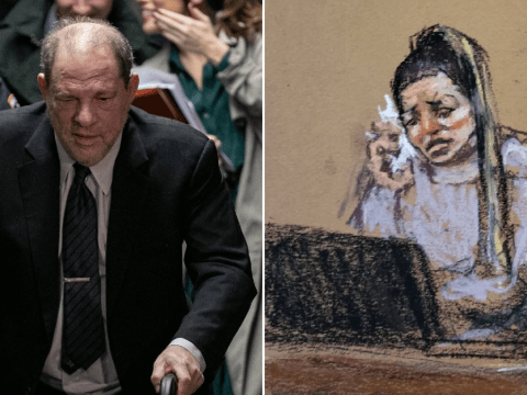 Harvey Weinstein trial halted as accuser breaks down on the stand