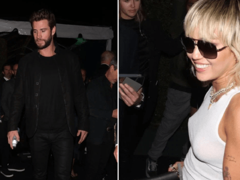 Miley Cyrus and ex-husband Liam Hemsworth narrowly avoid awkward run-in at swanky pre-Oscars party