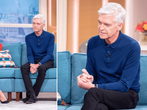 Phillip Schofield reveals weight loss as he admits coming to terms with being gay was starting to affect health