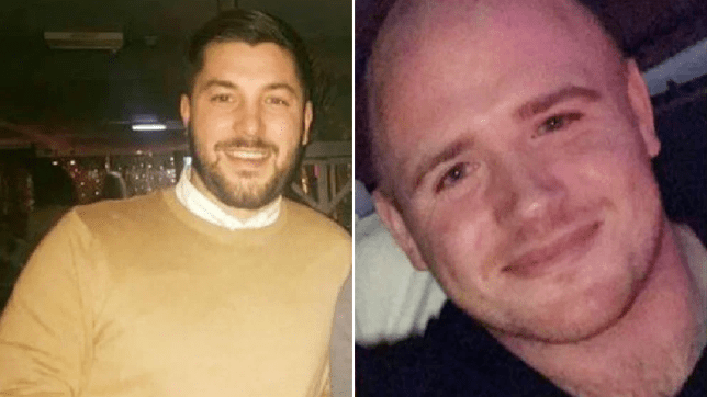 Paul Corness, 27, and John Robert-Jones, 27, from Denbigh, both lost their lives in a car crash in April 2018