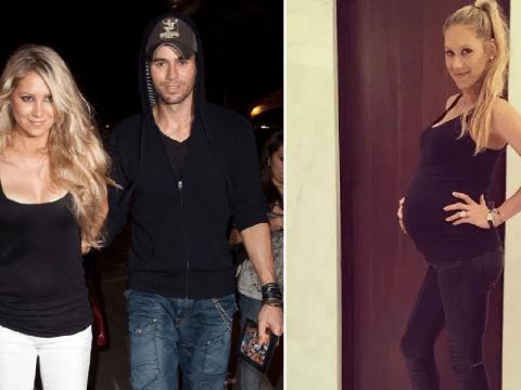 Anna Kournikova 'welcomes third child' with Enrique Iglesias
