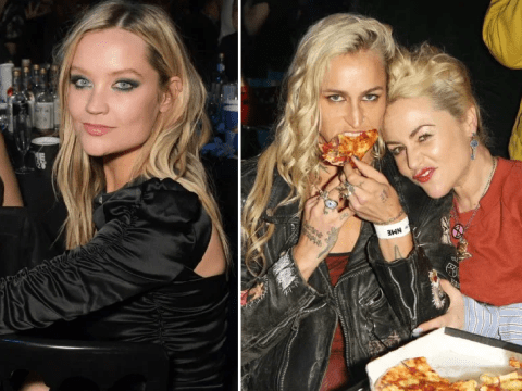 Laura Whitmore and Courtney Love let their hair down as slowthai brawls at wild NME Awards