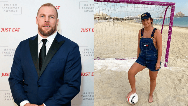 James Haskell and Jacqueline Jossa