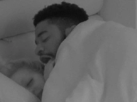 Love Island fans baffled as Ched 'eats' Jess's hand in steamy bedroom moment: 'What was that?'