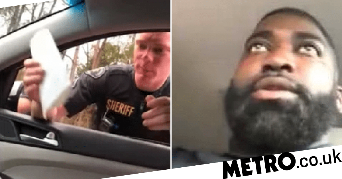 White cop pulls over black driver for going 65mph in a 70mph zone - metro