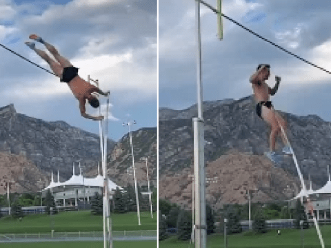 Athlete needed 18 stitches after impaling his scrotum while pole vaulting