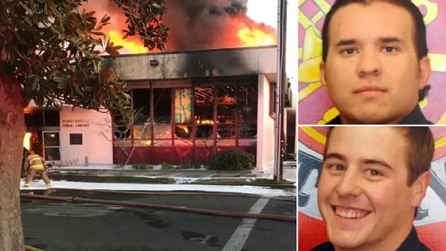 Firefighters, Figueroa, Jones