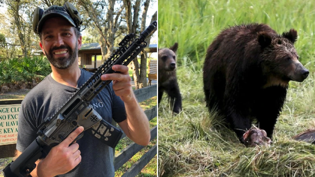 Donald Trump Jr, Grizzly bear