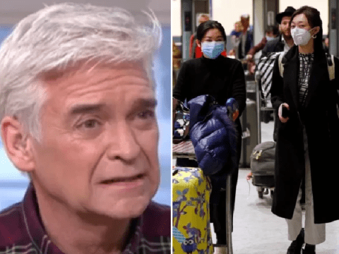Phillip Schofield asks if he should 'self-isolate' amid coronavirus fears after Paris visit