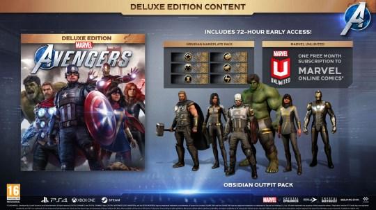 Avengers pre-order bonuses