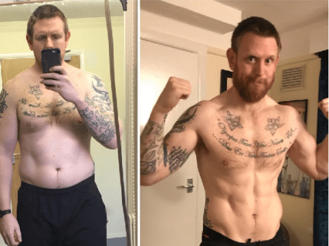 Veteran helps dads get fit with online challenge after battling his own weight problems