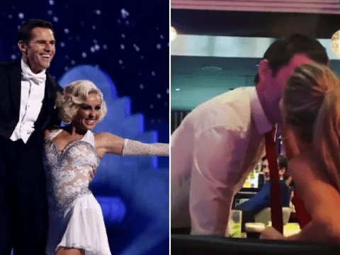 Dancing On Ice's Kevin Kilbane engaged to professional skating partner Brianne Delcourt months after meeting