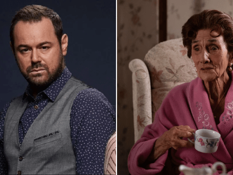 EastEnders' Danny Dyer says he 'looked like Dot Cotton' after filming in watertank for 35th anniversary episode