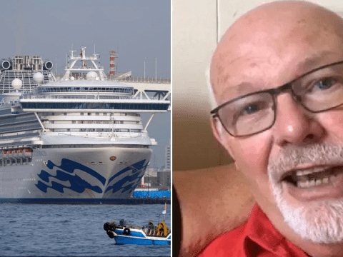 Brit trapped on coronavirus cruise says he's 'never felt less loved by the UK'