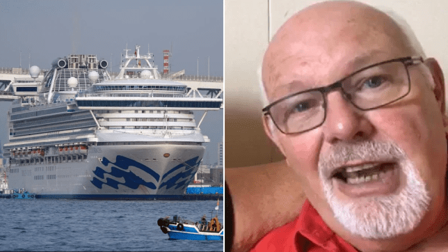 David Abel is being quarantined on the Diamond Princess with his wife Sally