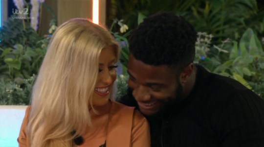 Love Island Jess and Ched
