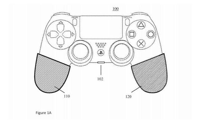 DualShock 5 patent diagram