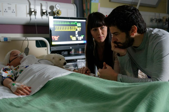 Lev and Faith and Lukas in Casualty