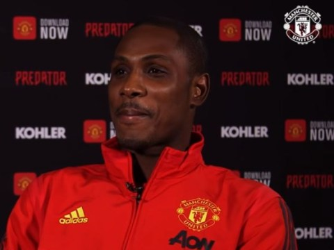 Ole Gunnar Solskjaer explains why Odion Ighalo must wait to join Manchester United training