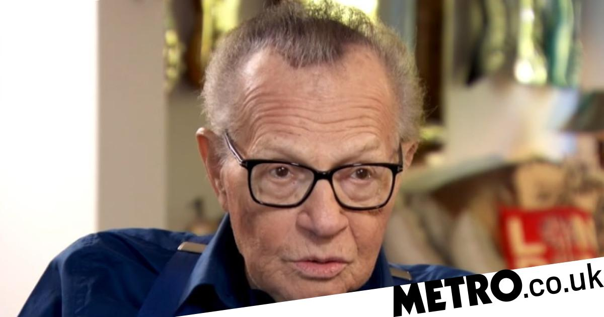 Larry King 'wanted to die' after suffering stroke that left him in coma