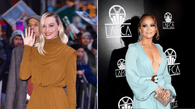 Margot Robbie and Jennifer Lopez