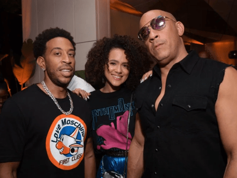 Vin Diesel, Nathalie Emmanuel and Ludacris are the dream team at Fast & Furious after party