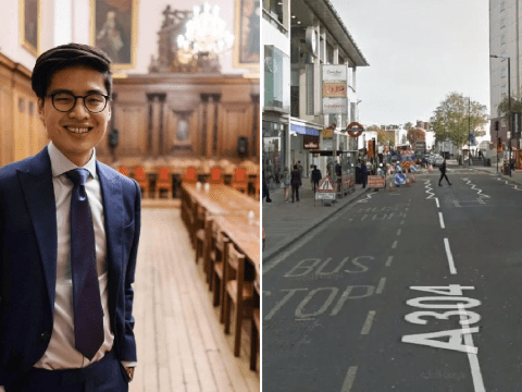 Teens shout 'coronavirus at Asian man before breaking his nose and robbing him'