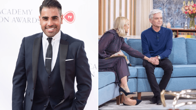 Dr Ranj Singh and Holly Willoughby and Phillip Schofield