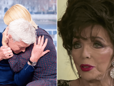 Joan Collins doesn't understand why Phillip Schofield needed to publicly come out as 'everyone knew he was gay'