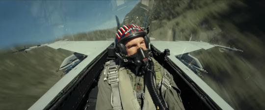 tom Cruise in Top Gun trailer