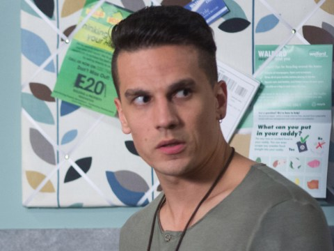 EastEnders star Aaron Sidwell left shocked after having a bread knife pulled on him