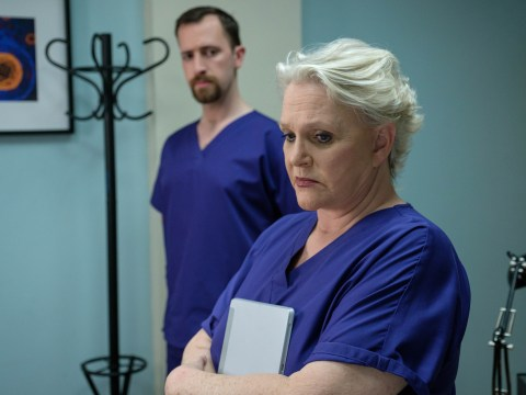 Casualty spoilers: Sharon Gless reveals how Zsa Zsa felt after that heartbreaking ending