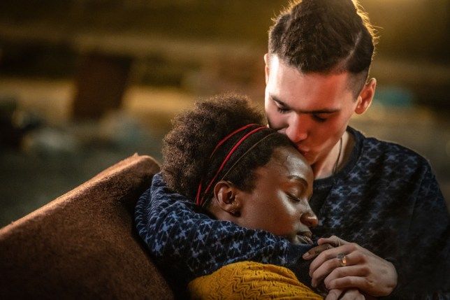 Jack Rowan and Masali Baduza in Noughts and Crosses