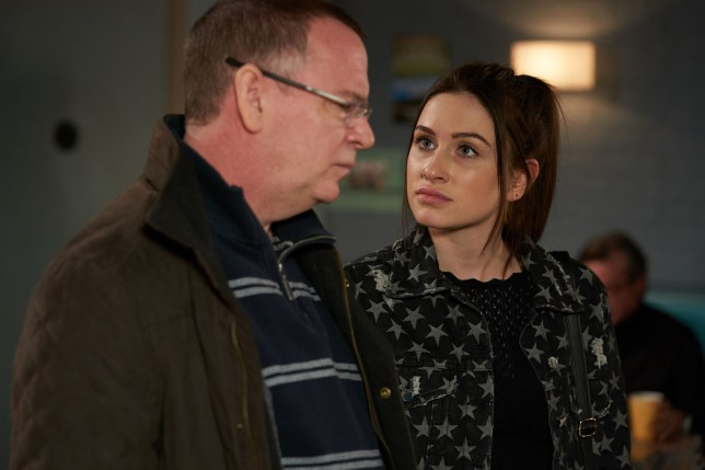 Ian and Dotty in EastEnders