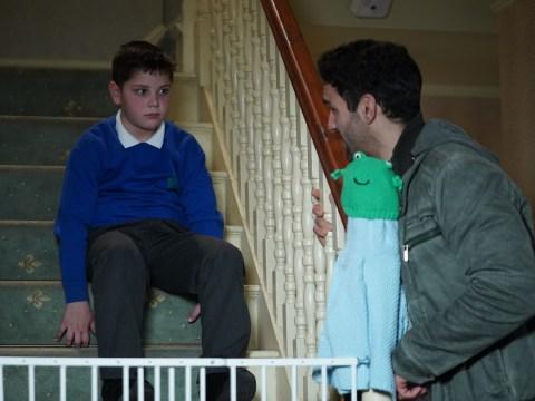 EastEnders spoilers: Kush Kazemi hides young Tommy Moon's secret from Kat Slater