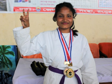 Strong Women: Orphaned teen escapes abuse and childhood marriage to become karate champion