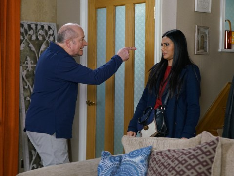 Coronation Street spoilers: Geoff Metcalfe threatens Alya Nazir after faking a heart attack