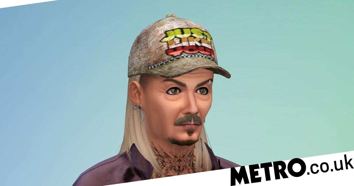Tiger King cast recreated in The Sims 4 - and they're all still crazy