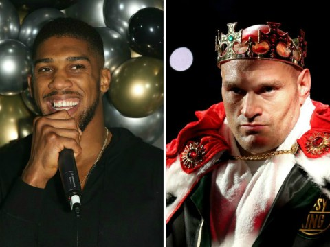 Anthony Joshua aims dig at Tyson Fury and tells heavyweight rival he 'should be looking to retire soon'