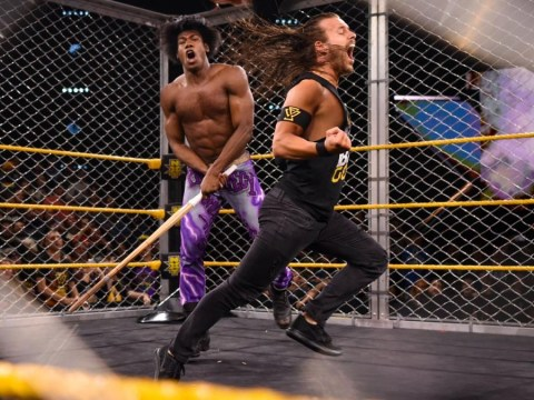 NXT results: Velveteen Dream traps Adam Cole in a steel cage