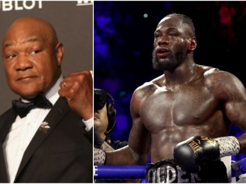 Deontay Wilder responds to George Foreman's offer to train him for Tyson Fury rematch