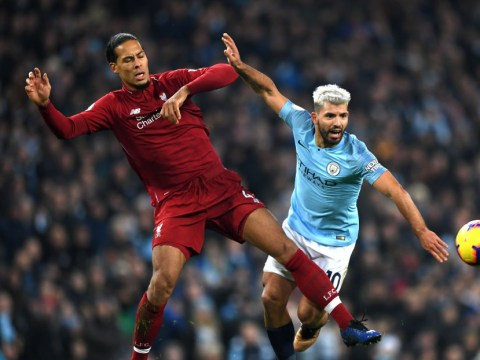 Virgil van Dijk hails Sergio Aguero as the hardest player he has ever had to mark